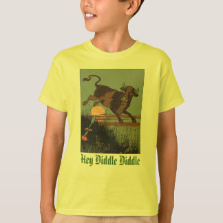 Hey Diddle Diddle The Cat And The Fiddle T-shirts