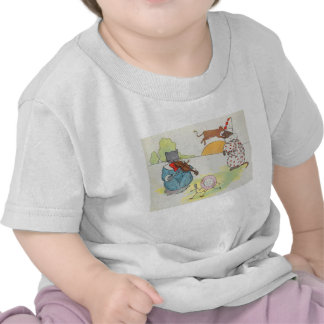 Hey, diddle, diddle!  The cat and the fiddle T-shirts