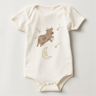 Hey diddle diddle, the cow jumped over the moon bodysuits