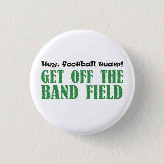 Hey, Football Team! 3 Cm Round Badge