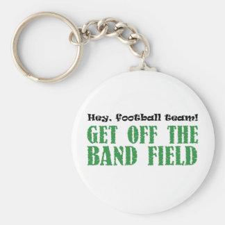 Hey, Football Team! Basic Round Button Key Ring