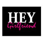 Hey Girlfriend Post Card