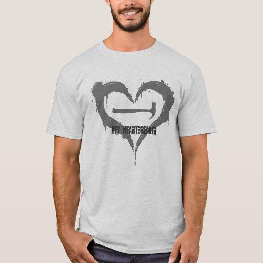 Hey Heartbreaker (Plaid) T-Shirt