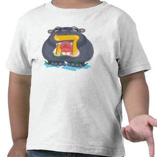 Hey Hebrew Aleph Bet (Alphabet) Hippo T-Shirt