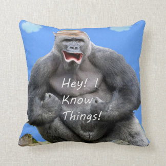 Hey! I Know Things! Cushion