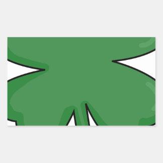 Hey Irish Sham-rock! Rectangular Sticker