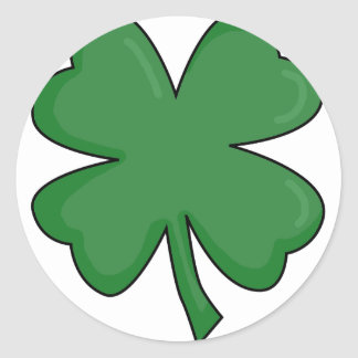 Hey Irish Sham-rock! Round Sticker