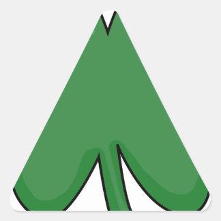 Hey Irish Sham-rock! Triangle Sticker