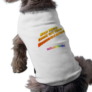 Hey Ma Look at the Democrats trans Sleeveless Dog Shirt