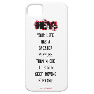 HEY! Read me iphone case - Greater purpose/Forward iPhone 5 Cases