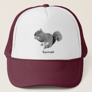 Hey Squirrel Trucker Hat