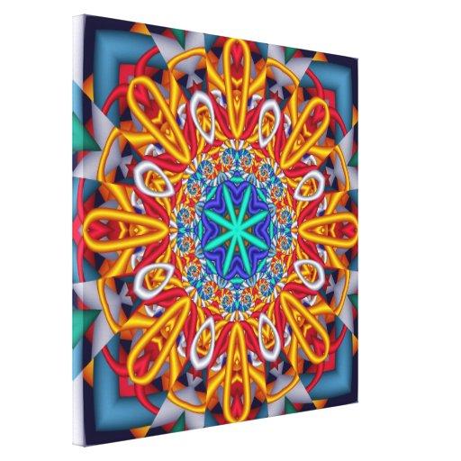 Hey Sunshine! Artistic abstract wallart Canvas Prints