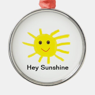 Hey Sunshine Christmas Ornament