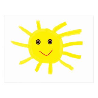 Hey Sunshine Postcard