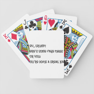 Hey Trump Bicycle Playing Cards