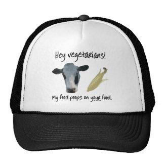 Hey Vegetarians! Cap