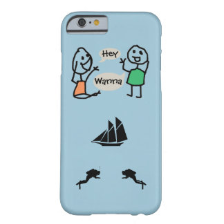 Hey Wanna iPhone 6 Case by RoseWrites Barely There iPhone 6 Case