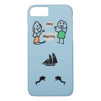 Hey Wanna iPhone 7 Case by RoseWrites