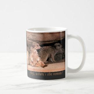 Hey, Where's the Remote! Mug