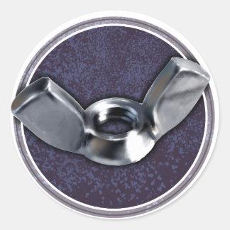 Hey Wingnuts! Round Sticker
