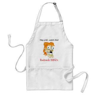 Hey y'all, watch this! standard apron