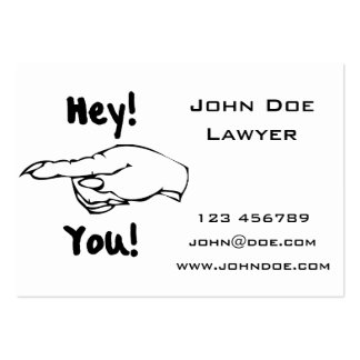 Hey! You! Large Business Cards (Pack Of 100)