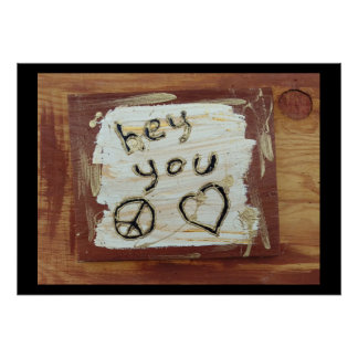 hey you poster