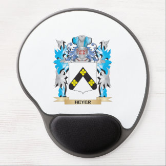 Heyer Coat of Arms - Family Crest Gel Mouse Pads