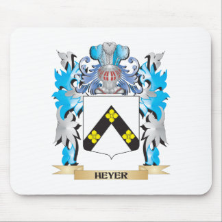 Heyer Coat of Arms - Family Crest Mouse Pad