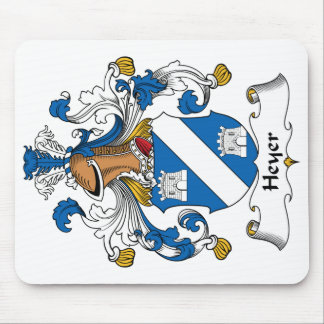 Heyer Family Crest Mouse Pad