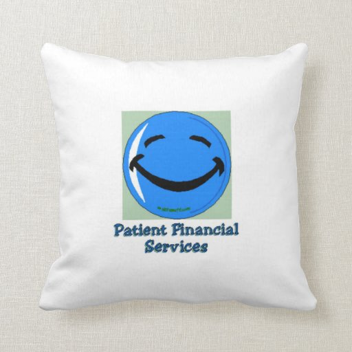 HF Hospital Patient Financial Services Throw Pillow