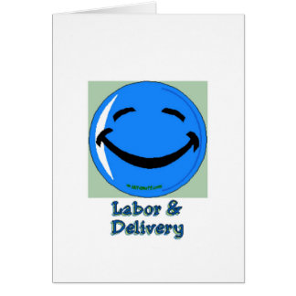 HF Labor & Delivery Greeting Card
