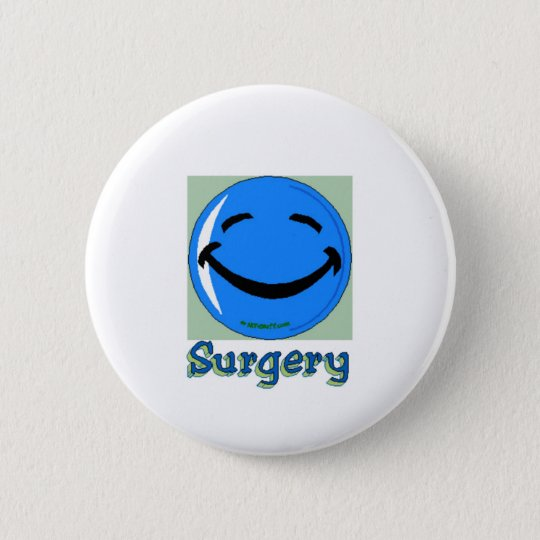 HF Surgery 6 Cm Round Badge