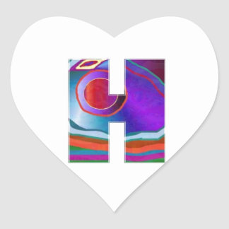 HHH Alpha Identity ID Location Initial Name High Heart Sticker