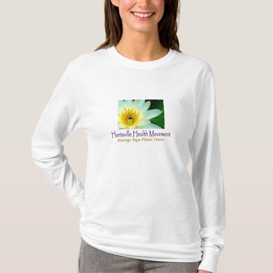 "HHM ""Asana Centre Lilly"" Long Sleeve T-Shirt"