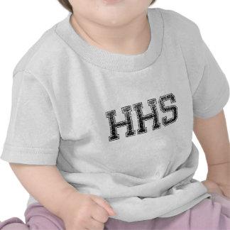 HHS High School - Vintage Distressed Tshirts