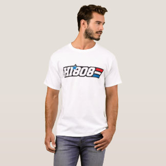 HI808 Hawaii Aloha Retro Patriot T-Shirt