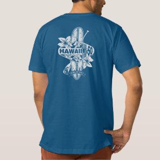 HI-50 Aloha SUP Team T-shirt White on Dark Print
