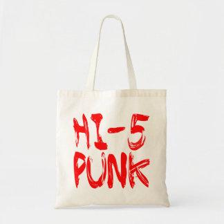 Hi 5 Punk Tote Bag