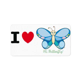 Hi Butterfly® Avery Label Address Label