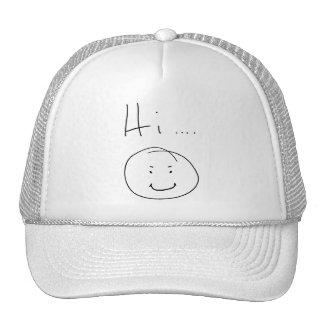 """Hi...."" Hat"