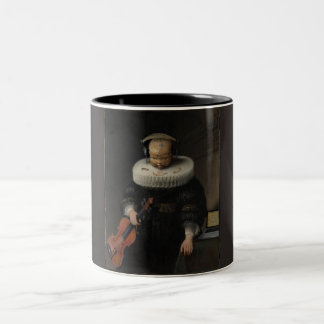 hi-f Two-Tone coffee mug