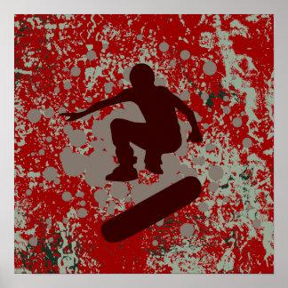 hi-fi skateboarding : bubbles : posters