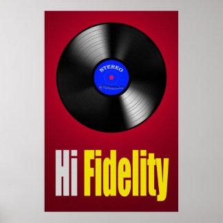 Hi Fidelity 36 x 24 Poster