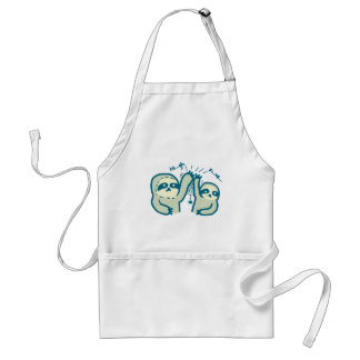 Hi-Five Sloths Apron