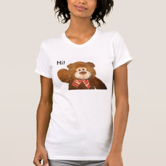 Hi! Goodbye! Stuffed Teddy Bear Shirt