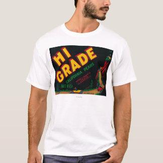 Hi Grade Pear Crate Label T-Shirt