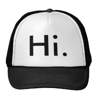 Hi Hat! Cap
