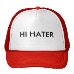 HI HATER TRUCKER HAT
