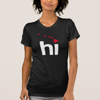HI HAWAII DESIGN - CLASSIC - Map Design -.png T-shirts